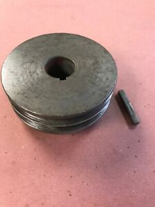 Powermatic Model 66 Table Saw Motor Pulley Sheave 2 Belt