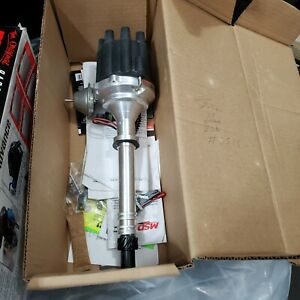 New Never Used Msd Chevy V8 W internal Module Distributor Msd Part 83605
