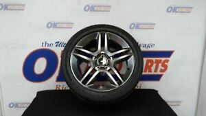 11 Ford Mustang Shelby Gt500 Rear Left Driver Wheel Rim Assembly Gray