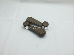 Set Of 2 Brown Window Crank Handle Lever For Toyota Tacoma T100 Pickup 89 04