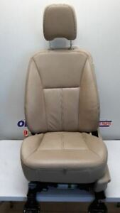 08 10 Ford Edge Driver Left Front Bucket Seat Tan Leather Power Memory Heated