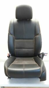 14 15 Chevy Impala Driver Left Front Bucket Seat Black Leather Suede Power Heat