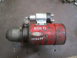 Ih Farmall W450d 400d 450d Md Smd Used Working Starter 1113034 Antique Tractor