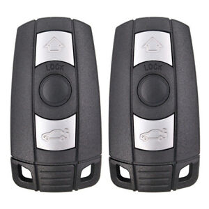 2pcsx Replacement Keyless Remote Key Fob For Bmw Kr55wk49147 With Comfort Access