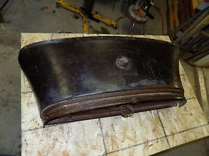 28 29 1928 1929 Model A Ford Gas Tank Cowl Firewall Coupe Tudor Rat Rod Sedan