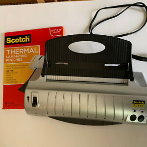 Scotch 3m Thermal Laminator Professional Quality 32 Laminating Pouches Tl901
