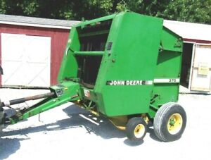 John Deere 375 Round Baler bale Size 5x4 free 1000 Mile Delivery From Ky