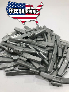 Wheel Balancing Weights Mc Type Coated Clip On 2 00oz 50 Piece Box
