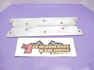 2 Dale Earnhardt Inc Signature Engraved Intake Port Covers For Sb2 2 Heads X1