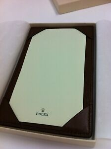 Rolex Jotter Pad Leather Note Pad