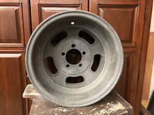 Vintage Halibrand Magnesium Big Window Wheels