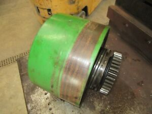 1941 John Deere A Clutch Flat Belt Pulley A1864r Nice One Antique Tractor