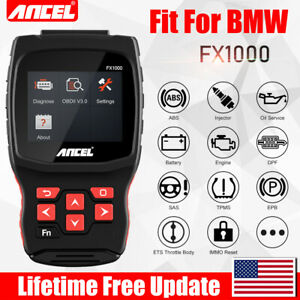 For Bmw Full Systems Abs Srs Dpf Tpms Automotive Obd2 Car Diagnostic Scan Tool