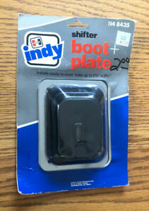 Vintage Hurst Indy Shifter Boot With Plate 114 8435 Gm Chevy Ford Mopar Nos