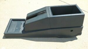 For 87 93 Nissan Datsun D21 Hardbody Pathfinder Center Console E brake Cover Oem