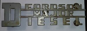 Fordson Major Diesel Tractor Emblem By Joseph Fray Ltd England Free Shipping