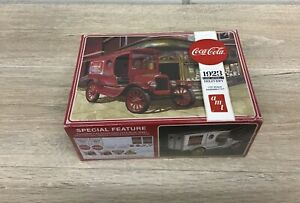 AMT Coca-Cola 1923 Ford Model T Delivery Model Kit 1/25 Scale B112