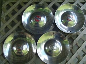 Vintage 1952 52 Buick Roadmaster 56c R Hubcaps Wheel Covers Center Cap Sombrero