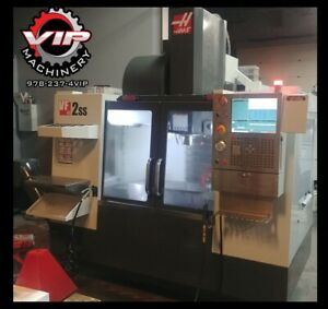 2015 Haas Vf 2ss Vmc With Wips probes 1 Owner Clean And Low Hours