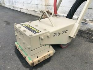 Edco Cd 5 Pneumatic Scabbler Concrete Surface Grinding Removal Grooving Roughing