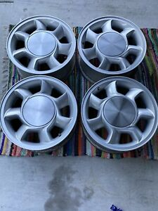 Original Set Of 4 1993 Mustang Cobra Wheels Oem Not Reproductions