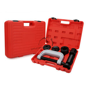 4 In 1 Ball Joint Press Amp U Joint Removal Tool Set Kit Heavy Duty 4x4 Adapters