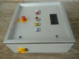 Kws Germany Industrial Metal Control Panel Box Enclosure Distribution Populated