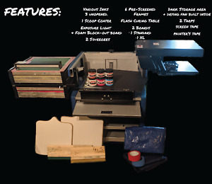 Pressaprint Screen Printing Press And Accessories