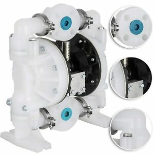 Air operated Double Diaphragm Pump 1inch Chemical Industrial Use Gby4 25pp
