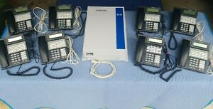 Samsung Idcs 100 Business Office Serv System 8 28d Digital Falcon Phones Stand