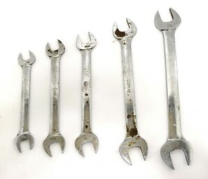 Lot Of 5 Large Snap On Wrenches Vo4042 Vo3638 Vo3032 Vo2830 Vo2426