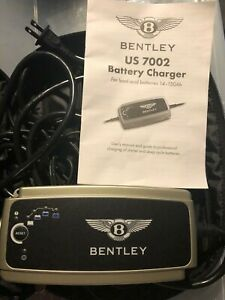 Bentley Us 7002 Battery Charger For Lead Acid Batteries 14 150ah Used