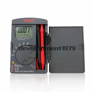 Pm11 Sanwa Digital Multimeters Pocket Type Tough But Compact Dmm 4000 Count