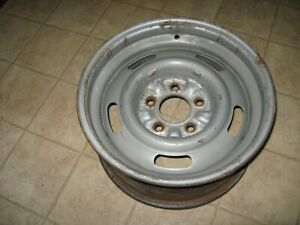 Chevy Rally Wheel 15 X 7 Fw 5 Lug Chevrolet Gm