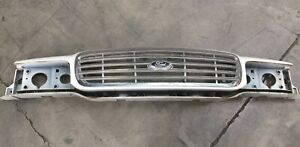 Ford Crown Victoria Front Hood Chrome Grille Oem 6w73 8190 ad