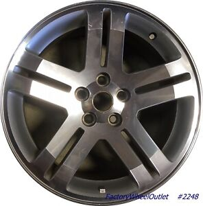 18 2005 2006 2007 Dodge Magnum 2006 2007 Charger Factory Alloy Wheel 2248