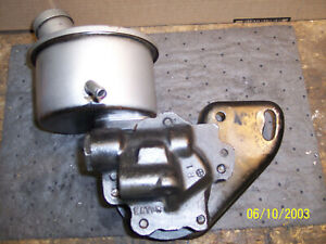 1957 Ford Y Block 272 292 312 Eaton Power Steering Pump Assembly Price Reduced