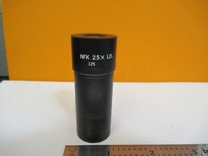Olympus Japan Eyepiece Nfk 2 5x Ld Optics Microscope Part As Pictured