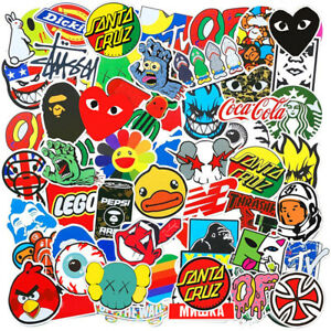 100pcs Jdm Stickers Pack Car Motorcycle Racing Helmet Motocross Waterproof Decal