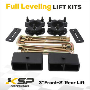 Full Steel Lift Kit 3 Front 2 Rear 2015 2020 Chevy Colorado Gmc Canyon 2wd 4wd