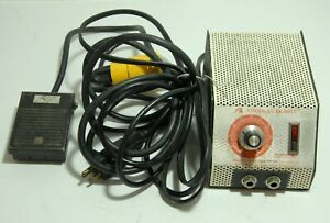 American Beauty 105a12 Resistance Soldering Power Unit 2500v W Foot Pedal