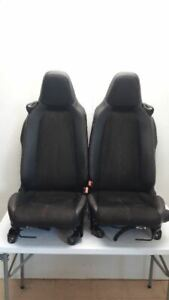 2019 Fiat 124 Spider Oem Seat Set Urbana Edition Cloth Leather Non Heated