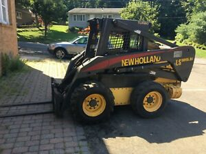 New Holland Ls 185b Skid Steer