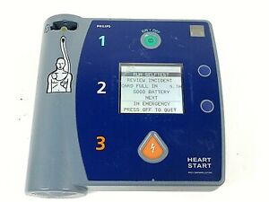 Philips Heartstart Fr2 Aed Defibrillator doesn t Include Battery Free Shipping