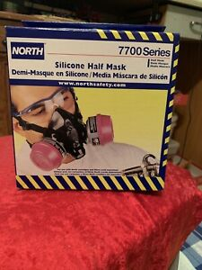 Honeywell North 7700 Series Silicone Half Mask