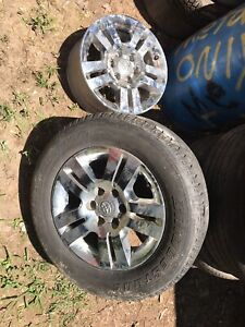 6 Lug Toyota Wheels With Tires Will Also Fit 2000 Chevy Truck