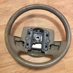 Ford Crown Victoria Tan Steering Wheel P7w733600 Bc34t3