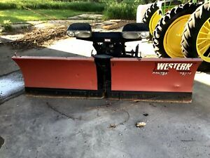 9 Western Mvp V Plow With Ultra Mount Brackets Remote Module And Harnesses