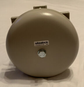 Gray At t Wheelock Fire Alarm Bell Tb 593 Telbell Ringer Equivalence 1 6a