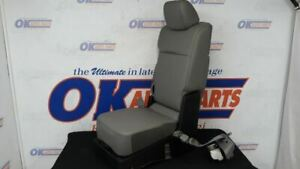 19 Ford F150 Oem Front Floor Center Console Jump Seat Gray Vinyl